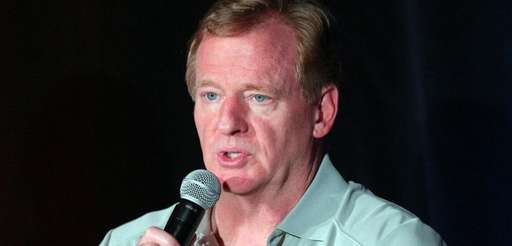 NFL Commissioner Roger Goodell responded on Saturday, Sept.