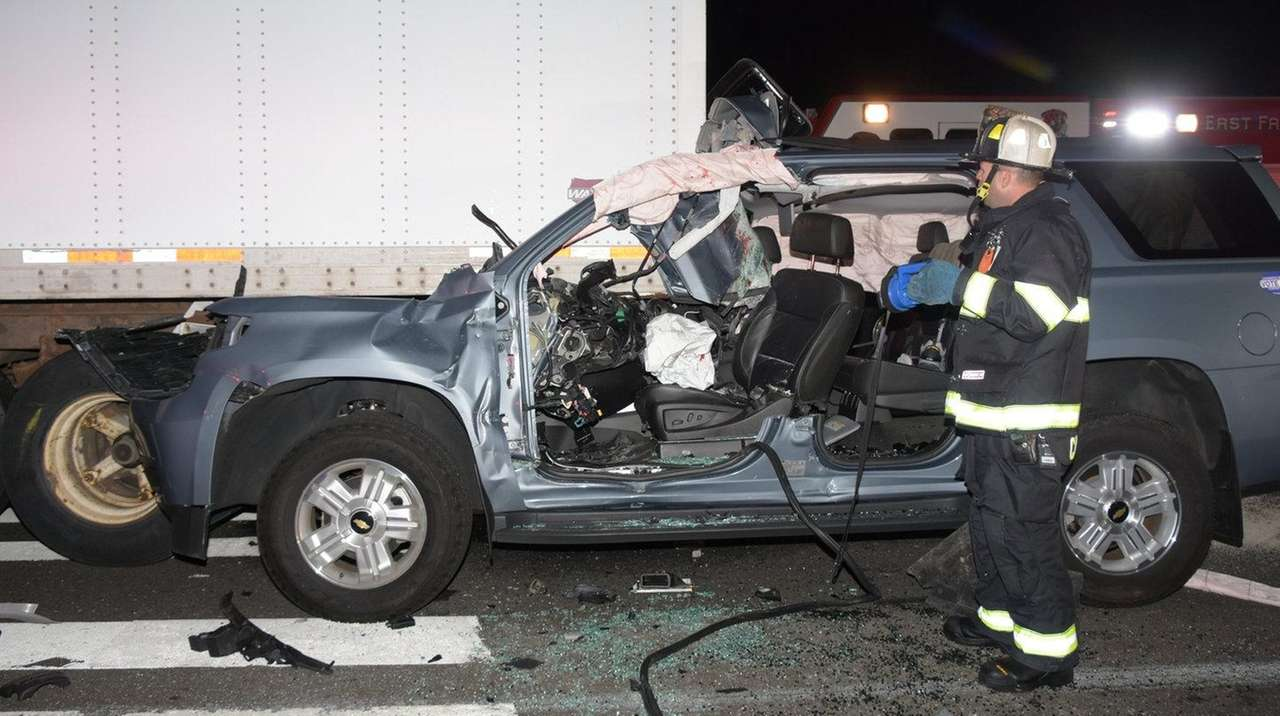 driver in serious condition after east farmingdale crash cops say