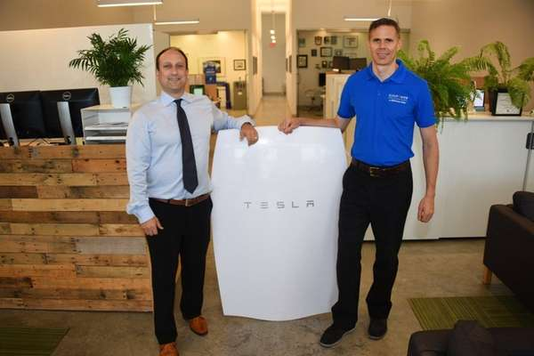 CEO David Schieren, left, and COO Gregory Sachs,