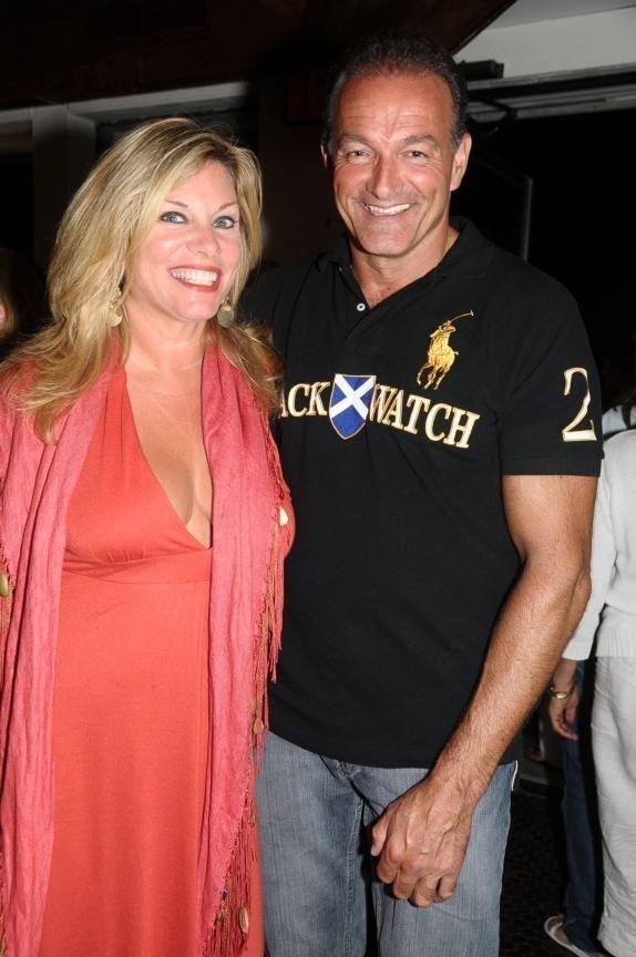 Montauk- September 5: (l-r)Joan Mackrey, Steve Cooney at