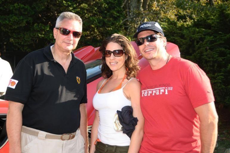 Wainscott- September 5: (l-r) Richie Stein, Laura Cantor,