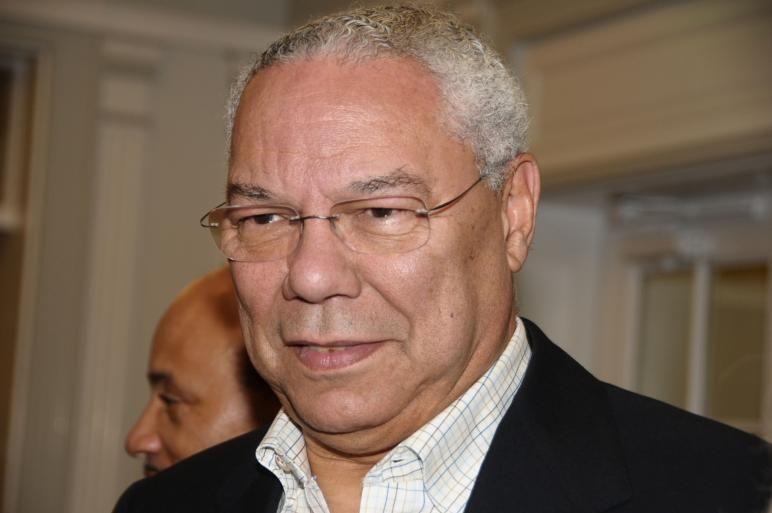 East Hampton-September 5:Colin Powell attends 'Emmett, Down In