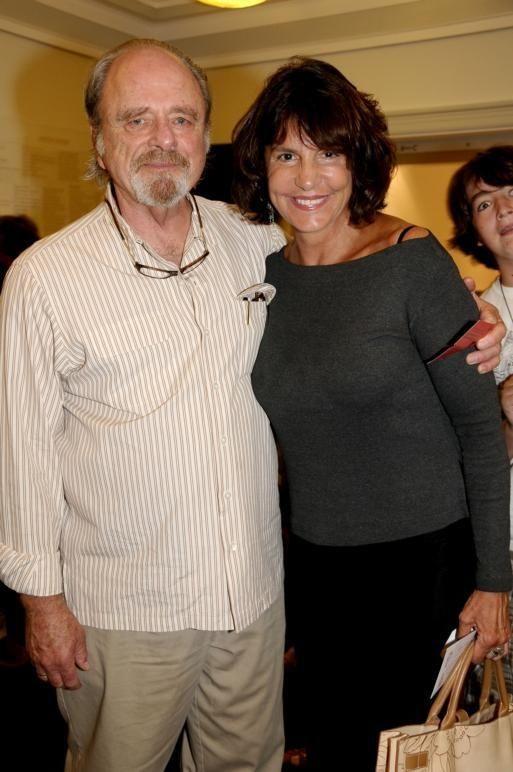 East Hampton-September 5:(l-r)Harris Yulin, Mercedes Ruehl attend 'Emmett,