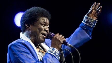 Brooklyn-based soul singer Charles Bradley, seen at the