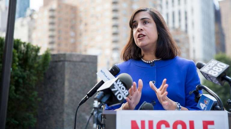 Republican New York City mayoral candidate and state