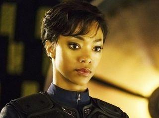 Sonequa Martin-Green as First Officer Michael Burnham in