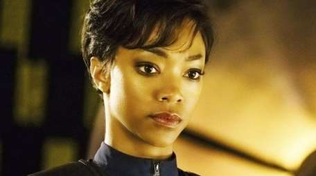 Sonequa Martin-Green as First Officer Michael Burnham in