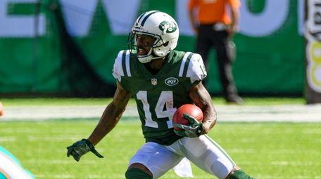 New York Jets wide receiver Jeremy Kerley (14)