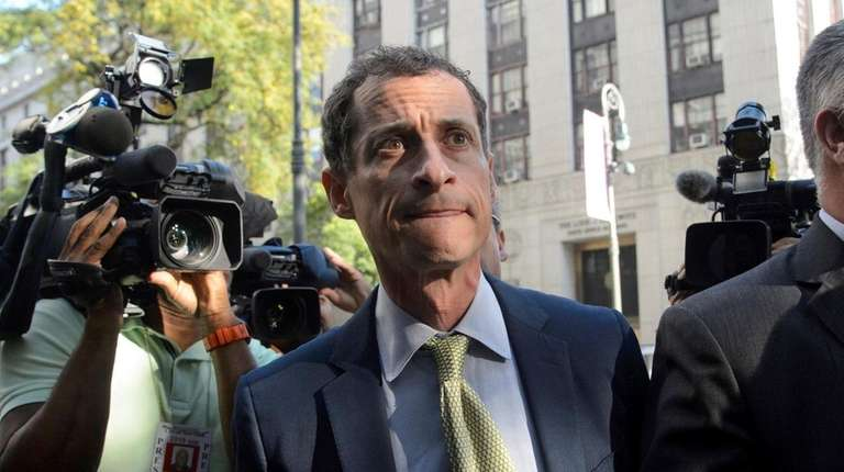 Anthony Weiner, the former Democratic congressman whose sexting