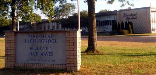 Riverhead High School is pictured on May 23,