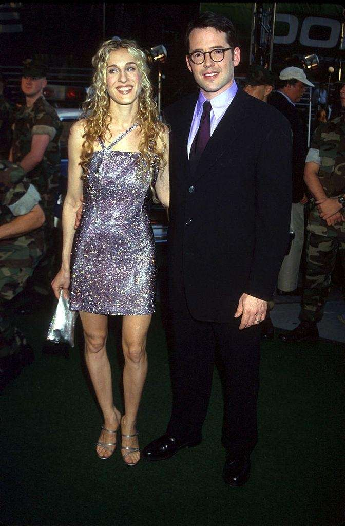 Sarah Jessica Parker and Matthew Broderick at the