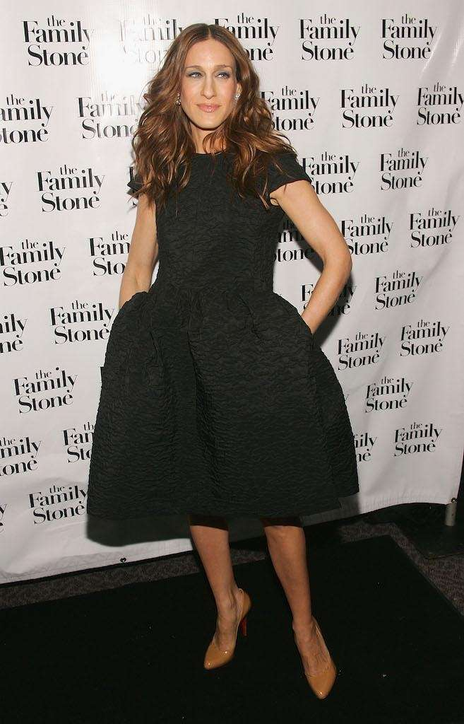 Sarah Jessica Parker attends a special holiday screening