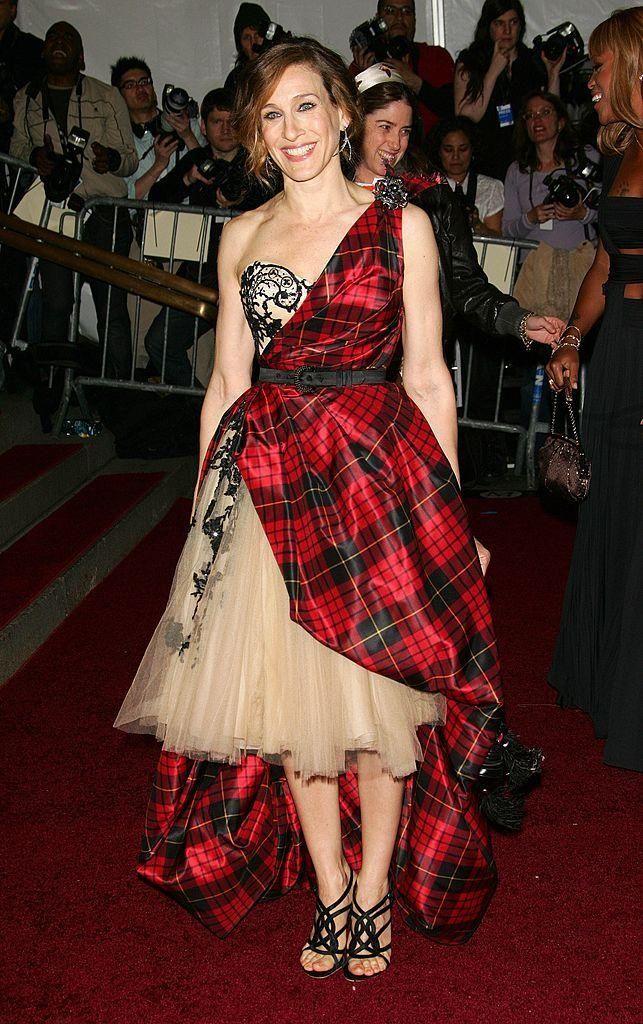 Actress Sarah Jessica Parker attends the Metropolitan Museum