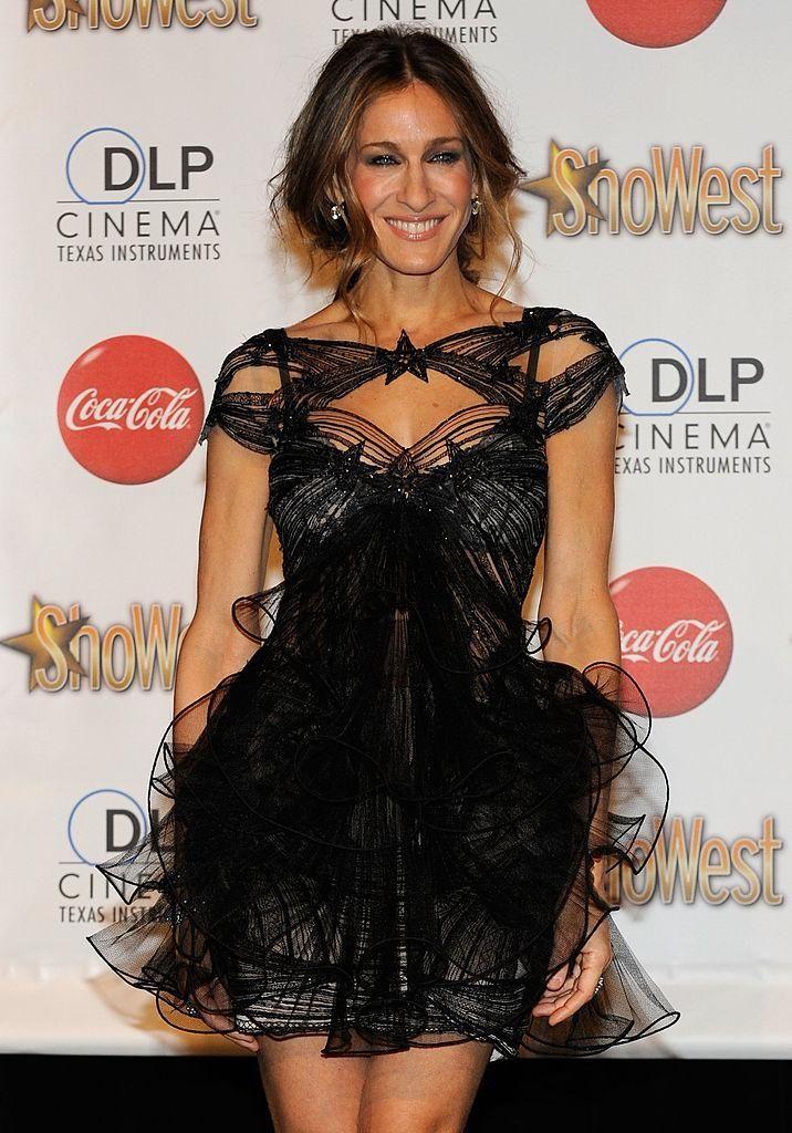 Sarah Jessica Parker at the ShoWest Awards at