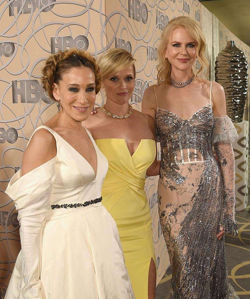 Sarah Jessica Parker, left, Reese Witherspoon and Nicole