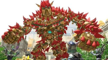 Knack II builds on its family-friendly gameplay with