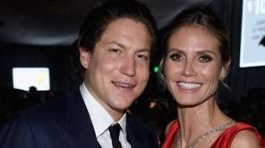 Vito Schnabel and Heidi Klum on Feb.