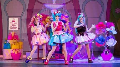 Colleen Furlan, center, in a new musical based