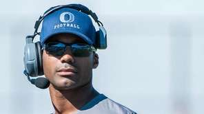 Oceanside High Schools football coach Rob Blount  on