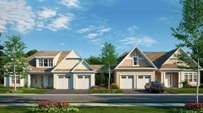 Units at Harvest Pointe will boast vaulted ceilings,