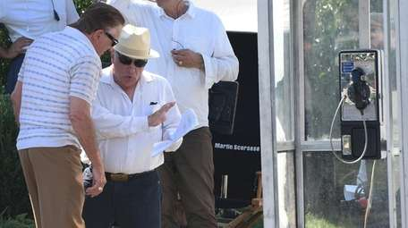 Actor Robert De Niro, left, and director Martin