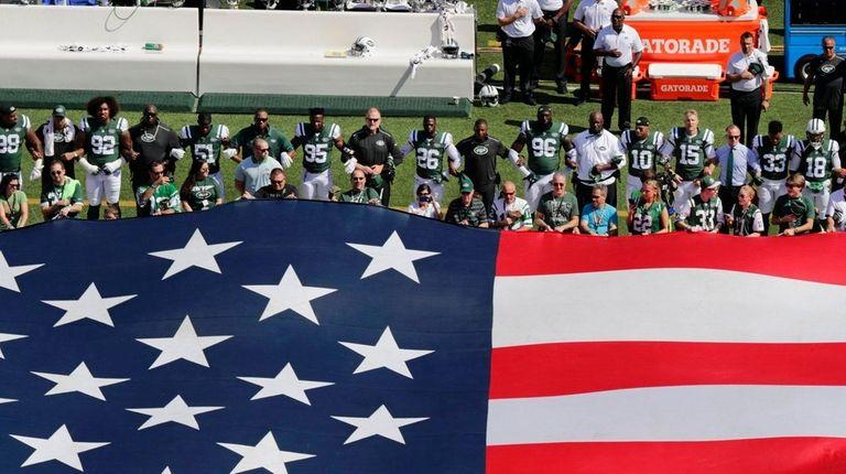 President Trump's anthem rants don't unify Americans | Newsday