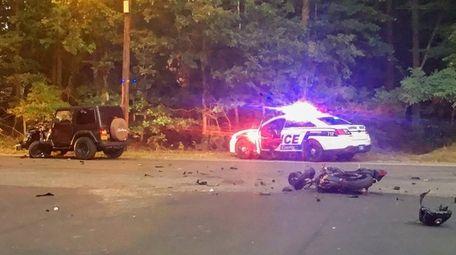 Suffolk County police said an Eastport man, 21,