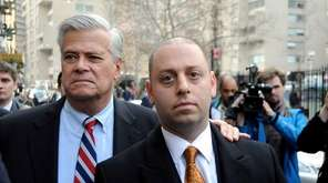 Former Republican state Senate leader Dean Skelos and