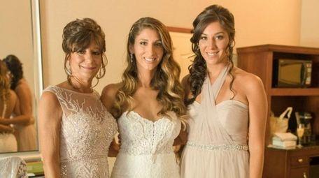 From left: Terri Stigliano, with her daughters, Vanessa