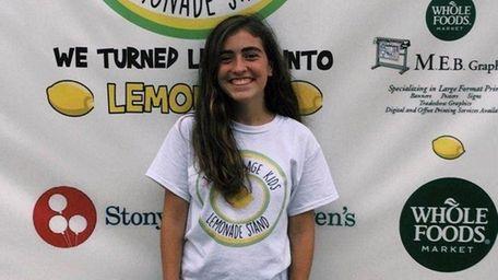 Madeline Mastriano, a senior at Ward Melville High