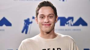 Pete Davidson at the 2017 MTV Video Music