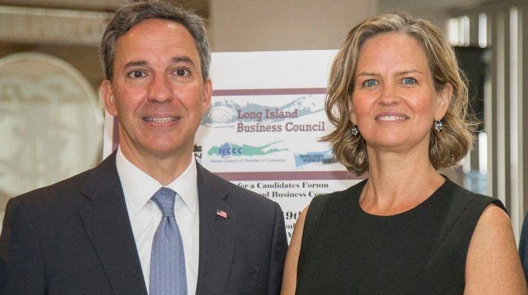 Nassau County executive candidates, Republican Jack Martins and