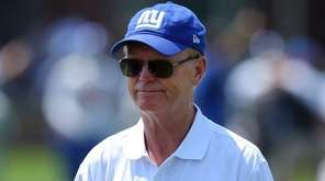 New York Giants co-owner John Mara on the