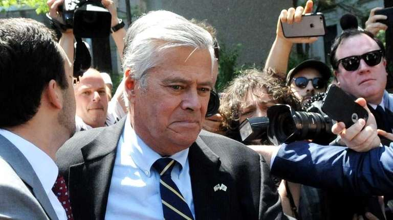 Dean Skelos, the former majority leader of the