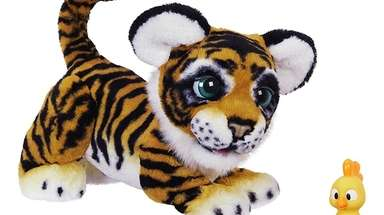 Make a noise or roar at Hasbro's new