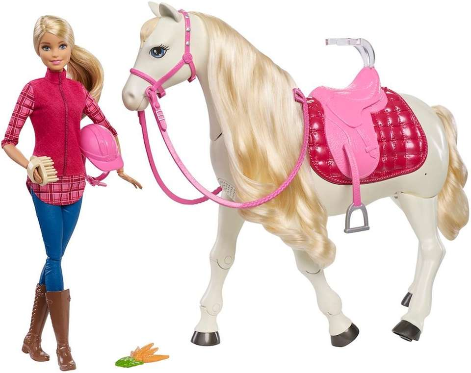 Barbie's DreamHorse helps make play come alive. It