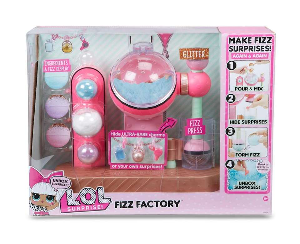 L.O.L. Surprise Fizz Factory lets kids make surprise