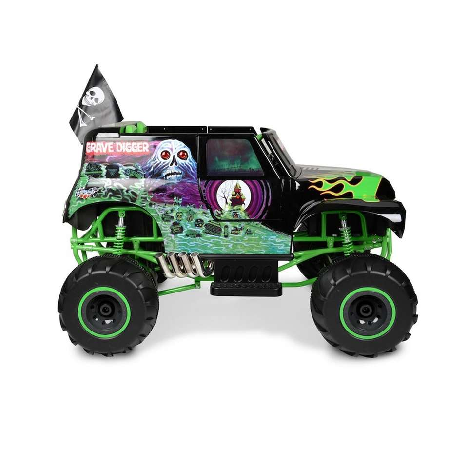 The Monster Jam Grave Digger is the perfect
