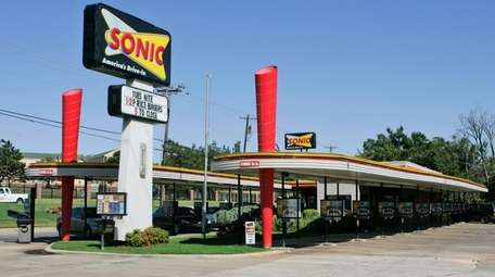 A Sonic restaurant is pictured in Oklahoma City,