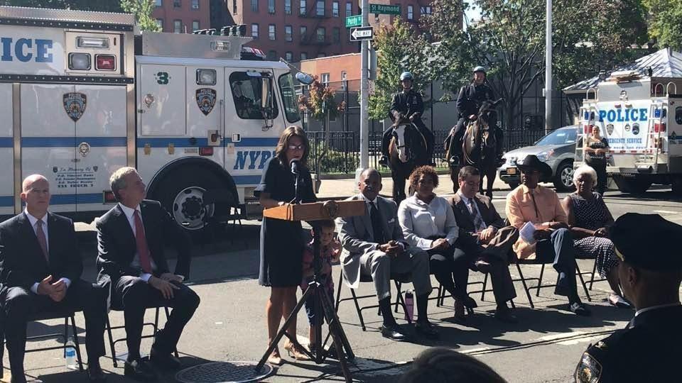 Lisa Tuozzolo, widow of NYPD Sgt. Paul Tuozzolo