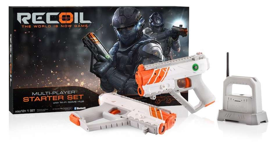 The RECOIL Starter Set, which runs on GPS,