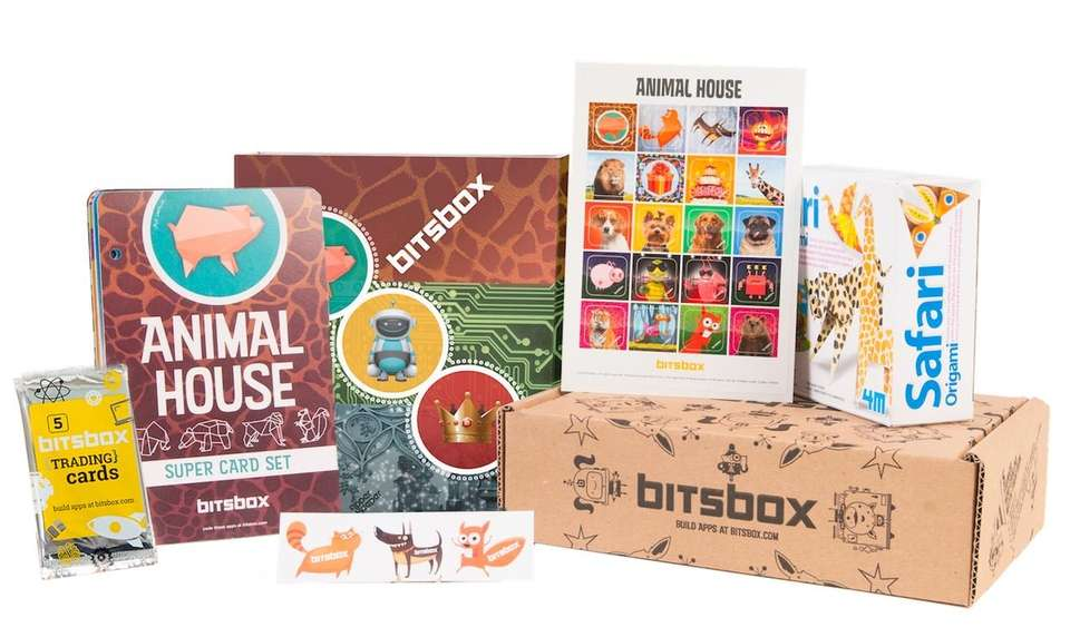 This subscription-based service provides a monthly box full