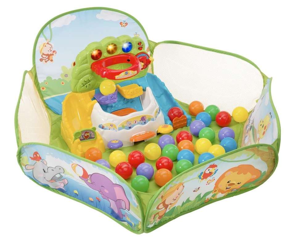 The VTech Pop-a-Balls Drop and Pop Ball Pit