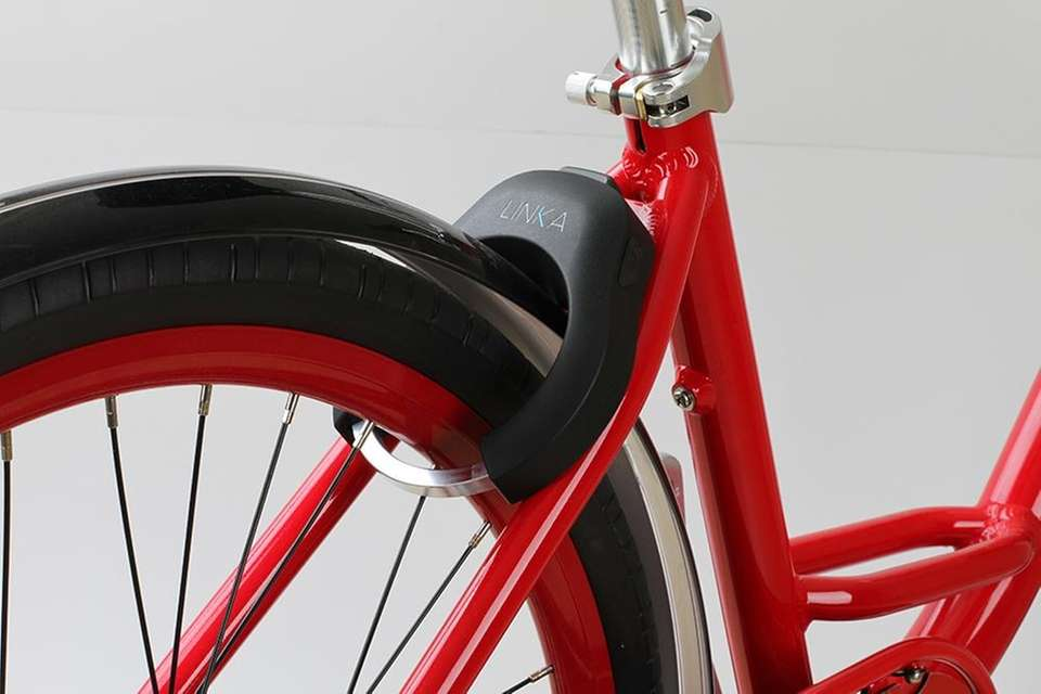 The LINKA bike lock is a revolutionary security