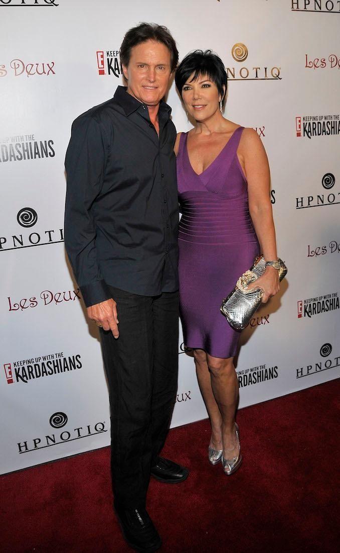 Olympic gold medalist Bruce Jenner and Kris Jenner