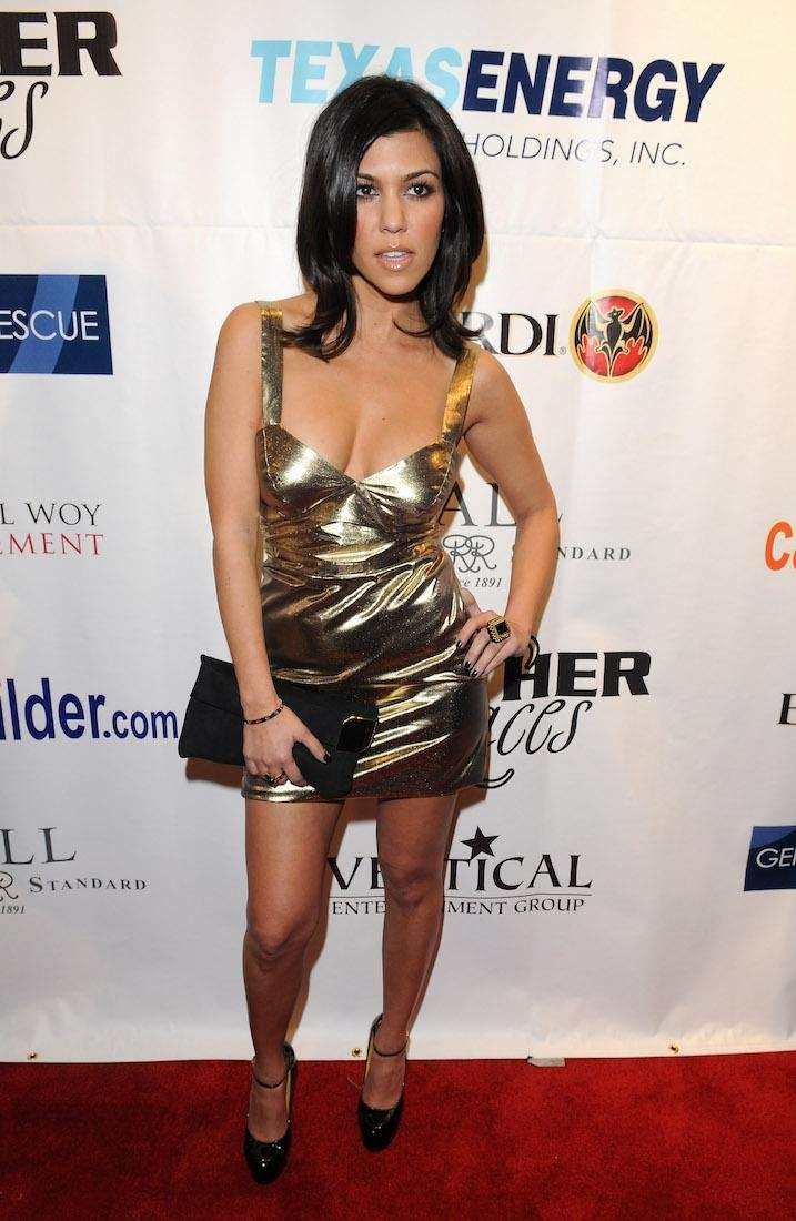 TV personality Kourtney Kardashian attends 6th annual Leather