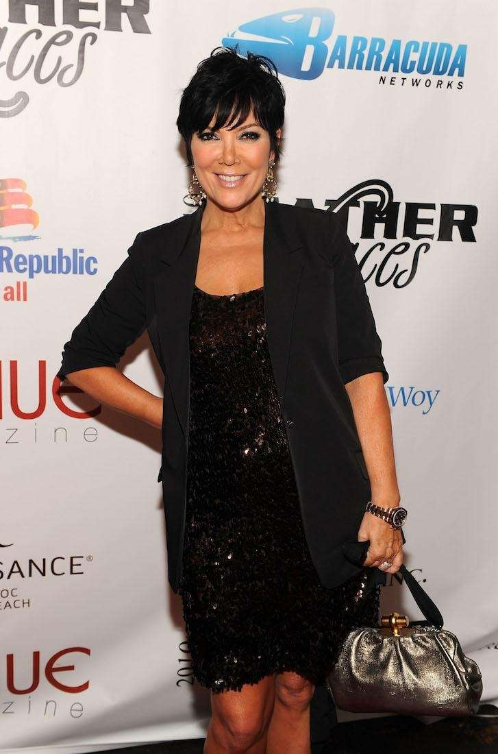 TV personality Kris Jenner attends the Leather &