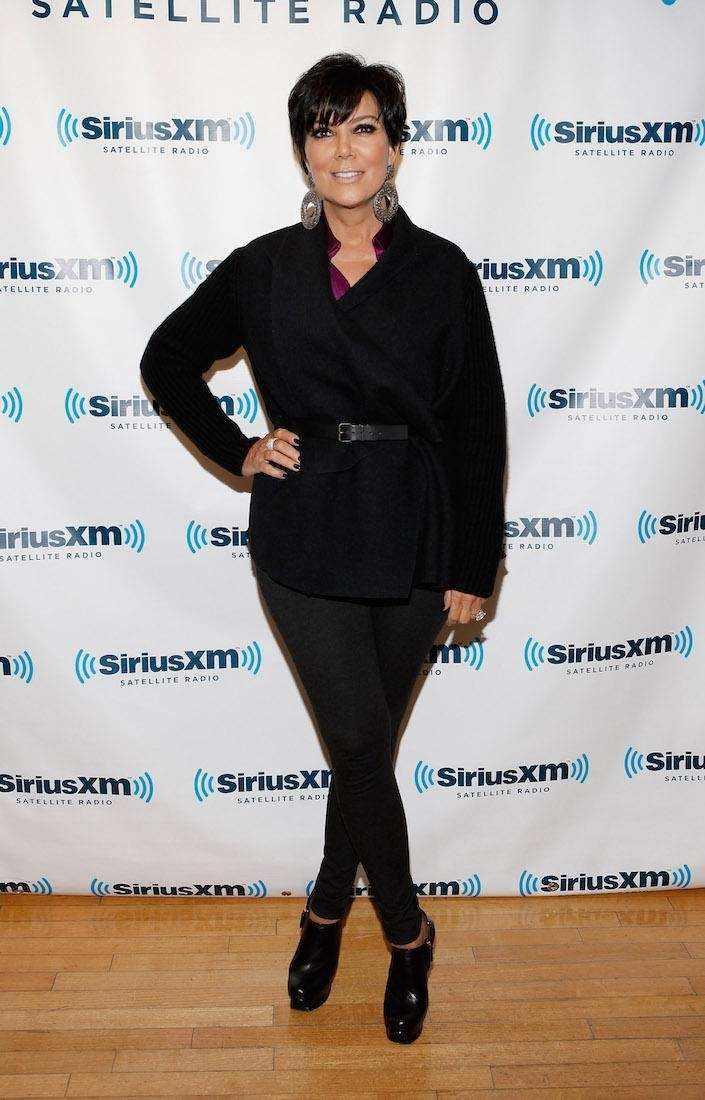 Television personality Kris Jenner visits the SiriusXM Studio
