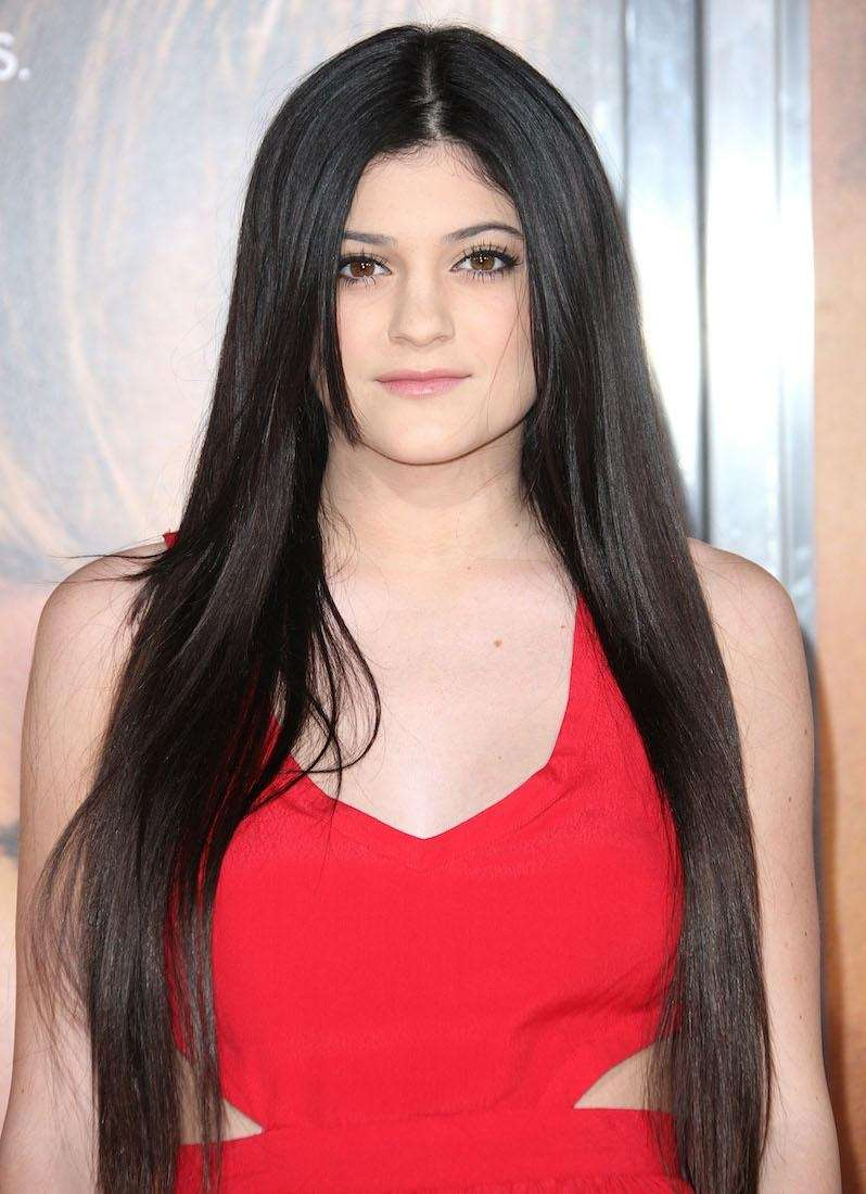 Kylie Jenner attends the premiere of Sony Pictures'