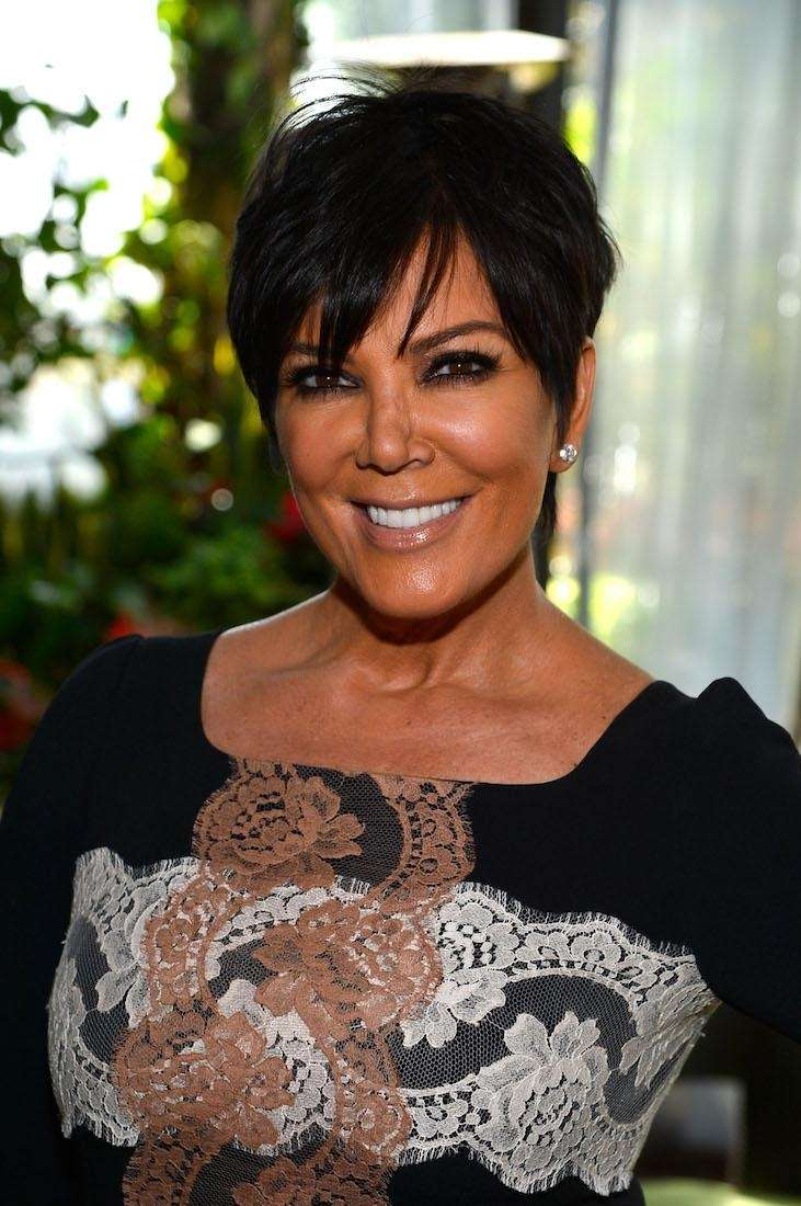Kris Jenner attends DuJour magazine's Spring issue collaboration